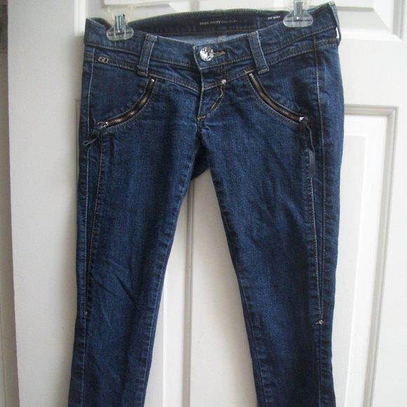 Miss Sixty Skinny Jeans Size 26